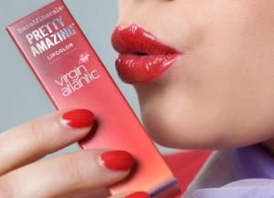 virgin atlantic pretty amazing lip color