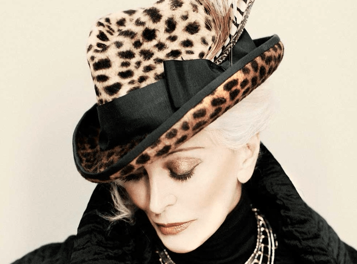 Photographed by Tim Peterson 2011 - Carmen Dell'Orefice