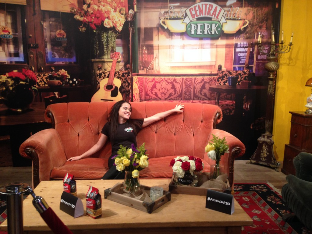 Day dreaming on the friends couch