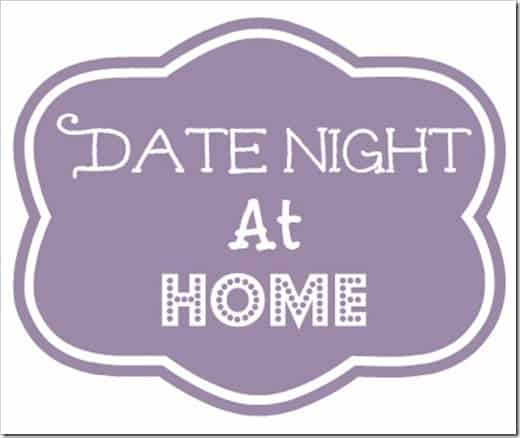 date night in - home