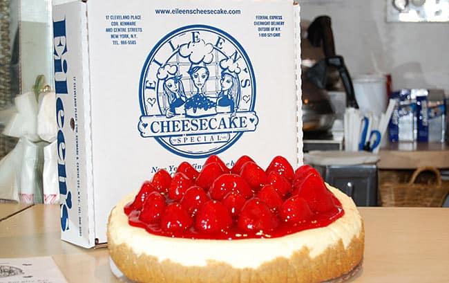 eileens cheesecake