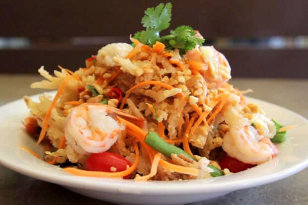 Crispy Papaya Salad - Thailand Center Point - Woodside, Queens, New York