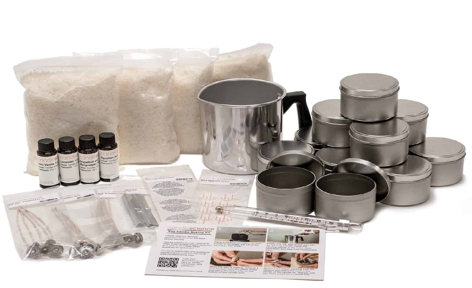 Soy Candle making kit