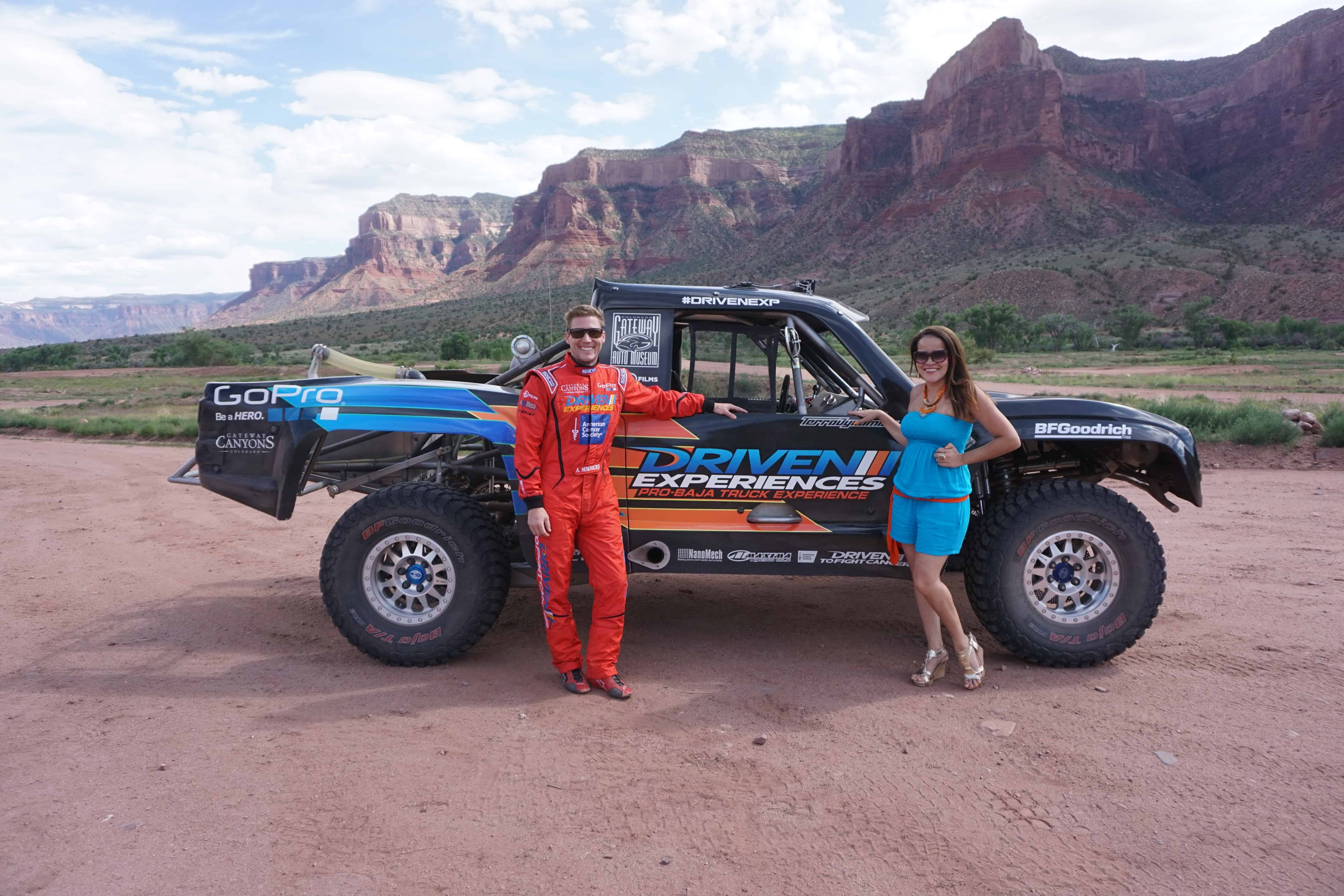 Dreams in Heels Exploring the Canyons of Colorado in a Baja Trophy Truck with Driven Experiences!
