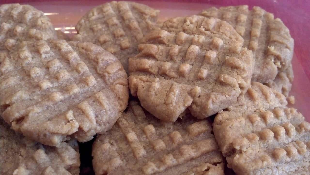peanut-butter-gluten free-cookies
